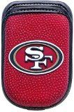 San Francisco 49ers cellphone cover case - in black and red with the niners logo in the front.