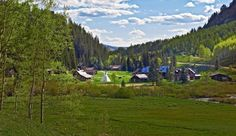 Dunton Hot Springs Resort: Dunton Hot Springs is a restored ghost town with hand-hewn log cabins and traditional teepees.