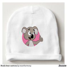 Koala bear cartoon baby beanie