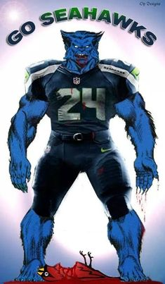 Seahawks Memes, Seahawks Football, Football Memes, Sports Memes, Football Season, Seattle Seahawks Logo, Man Cave Items, Marshawn Lynch, Russell Wilson