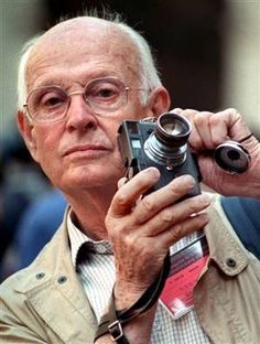 The photographer Henri Cartier-Bresson (1908-2004) is the subject of a retrospective exhibition presented in New York at the Museum of Mode...