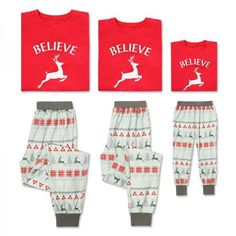 Love these reindeer matching family pajamas! The Best Selection of Matching Funny Family Christmas Pajamas Matching Family Christmas Pajamas, Christmas Pjs, Funny Christmas Shirts, Matching Family Outfits, Matching Pajamas, Family Tees, Family Humor, Funny Family, Funny Pajamas