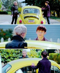 "#OnceUponATime 5x05 ""Dreamcatcher"" - Emma and Henry"