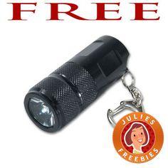 FREE Flashlight Keychain