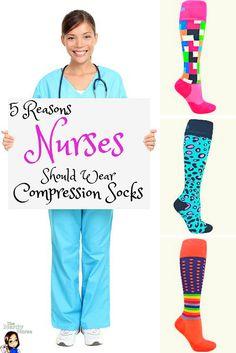 5 Reasons Why Every Nurse Should Wear Compression Socks