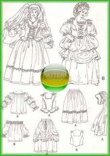 Medieval/Victorian/Colonial Dress PATTERN Wedding OOP Medieval Dress Pattern, Wedding Dress Patterns, Fashion Design Drawings, Costume Patterns, Period Costumes, Larp, Designs To Draw, Colonial, Victorian
