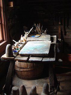 Artist's Room by meiburgin, via Flickr