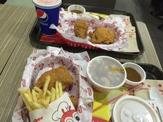 jollibee - filipino fast food fried chicken - behind WW House in Central Hk Restaurant, Jollibee, Filipino, Fried Chicken, Food Photo, Fries, Restaurants, Places, House