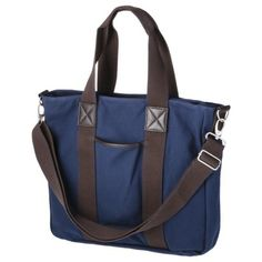 Merona® Men's Canvas Tote Bag - Navy.  If my current one wears out...