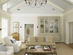 So many whites and neutrals in one space. Can't count them all!