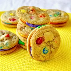 M and M Summer Fun Cookies - Rock Recipes -The Best Food & Photos from my St. John's, Newfoundland Kitchen.