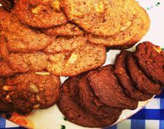 Galletitas de chocolate y maní y de banana y avena - Cocineros Argentinos