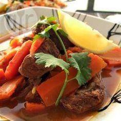 Lamm-Tajine, Ramadan, Marokko, marokkanisch @ de.allrecipes.com