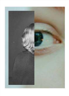 "Saatchi Art Artist Monika Ardila; Collage, ""this eye doesn't shine III"" #art"