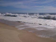 #hamptons #beach and big #waves