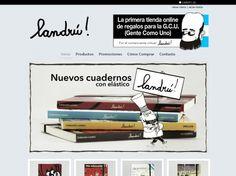 """Tienda online de Landrú – Tienda virtual dedicada exclusivamente al dibujante y humorista gráfico Landrú, a través de la cual podés comprar regalos con sus ilustraciones y su último libro: """"Landrú, el que no se rie es un maleducado"""""""