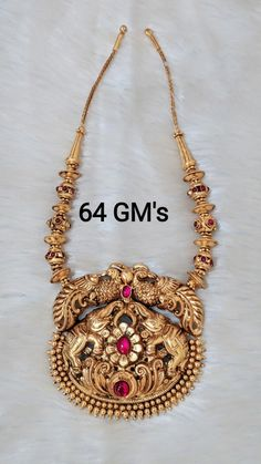 Gold Temple Jewellery, Gold Wedding Jewelry, Gold Necklace Simple, Gold Jewelry Simple, Gold Haram, Gold Chain Design, Antique Necklace, Chocker, Lockets