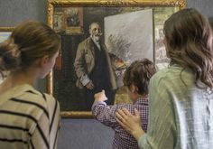Founded in 1898, visit this fine art museum featuring four galleries.