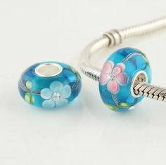 CL45025 925 Sterling Silver Colourful Flower Crystal Pandora Charms Beads on sale,for Cheap,wholesale