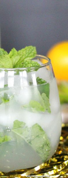 Non-Alcoholic Mojito Recipe - This recipe is FANTASTIC! Great idea to have this for a baby shower so everyone can enjoy a fun drink!
