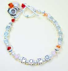 Learn how to make this Grandmother bracelet here   How to Make Bracelets from Paper-Recycled Beads | How to make Bracelets: Bracelets are never out-of-style, and always trendy to be worn around. Not only they are great on ever occasions as neat and stylish accessories, but they are also perfect as a
