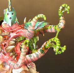 Sproket's Small World: Project Nurgle Part 7 - adding slime to Gutrot Spume