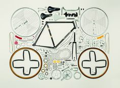 Todd McLellans Things Come Apart Showcases Beautiful Photos Of Disassembled Technology - Bicycle.