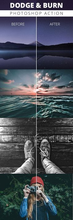 Dodge And Burn - Photoshop Action #photoeffect Download: graphicriver.net/...