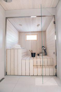 Acorn House, Sauna Design, Lets Stay Home, Apartment Renovation, Saunas, Bathroom Essentials, Home Spa, New Homes, Relax