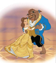 Belle and beast dancing, disney& beauty and the beast. Disney Animation, Disney Pixar, Walt Disney, Disney Characters, Disney Princess Pictures, Disney Pictures, Beauty And The Beast Art, Belle And Beast, Cute Disney