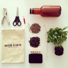 """Green thumbs at Maison Blanche HQ.  Learn how to make a hanging herb garden from your Maison Blanche packaging at www.maisonblanche.com.au/reuse ♻️ #DIY…"""