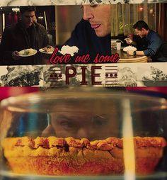 """Love me some pie."""