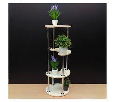 """Modern Plant Stand """"Palermo"""". Flower stand - Indoor plant stands Plant holder - Pot stand - Stand for flowers Flower shelf Stand Shelf Rack"""