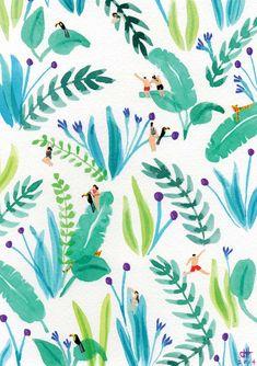 Art prints. Joanne Ho. jungle-toucan