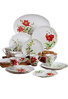Lenox Winter Meadow Christmas China, Christmas Dishes, Christmas Kitchen, Casual Dinnerware, Dinnerware Sets, Holiday Service, Xmas Pictures, Christmas Dinnerware, Thing 1