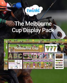 This fantastic pack features a selection of our 'Melbourne Cup' themed display resources! Includes display lettering, banners, bunting and more. Display Lettering, Comprehension Activities, Melbourne Cup, Classroom Displays, Activity Games, Classroom Activities, Task Cards, Bunting, Mathematics
