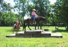 Horsemanship and Trail Obstacle