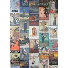 San Lorenzo Italy - Italian Opera Vintage Poster