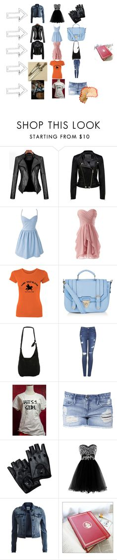 """""""Outfits that tie together"""" by maximum-ride-fang on Polyvore featuring Forever New, Disney, Topshop, Black Orchid, Object Collectors Item, women's clothing, women's fashion, women, female and woman"""