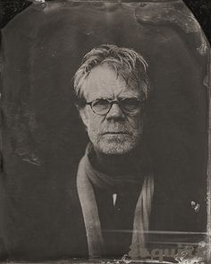 William H. Macy  Tintypes shot by Victoria Will at Sundance