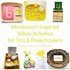 Every Star Is Different: Montessori-inspired Yellow Activities for Tots & Preschoolers with Free Printables