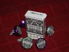 """""""Mint to be""""  wedding favors"""