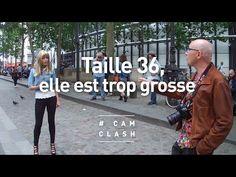 """""""Taille 36, elle est trop grosse"""" - Cam Clash - YouTube"""