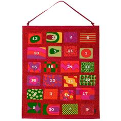 Isola's advent calendar by Marimekko.