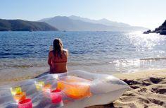 Relaxen am Strand Forno auf Elba