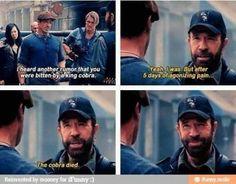 You go Chuck!
