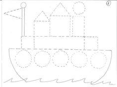 Preschool Writing, Preschool Education, Preschool Curriculum, Preschool Printables, Preschool Worksheets, Preschool Activities, Preschool Pictures, Teaching Shapes, Felt Bookmark