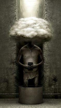 Powerful, disturbing visual emotions from the Russian designer Anton Semenov - ego-alterego.com