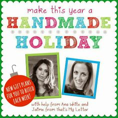 That's My Letter: Handmade Holiday