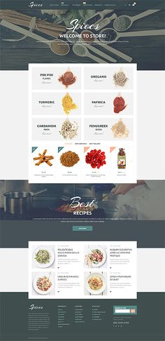 Spices Online Store #Prestashop #template. #themes #business #responsive #webshop #Prestashopthemes